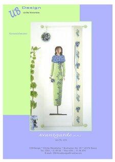 Avantgarde Bleu - Schema Punto Croce