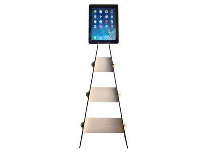"""Sundost, docking station da terra per tablet fino a 10"""" in legno compensato di pioppo"""