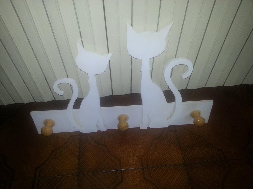 Attaccappanni in legno