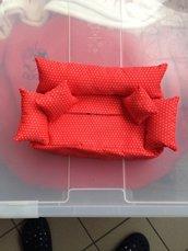 Porta fazzoletti a forma di divanetto