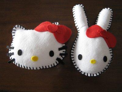 Hello Kitty e coniglietto