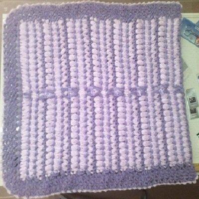 copertina bebè di lana