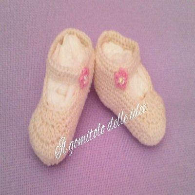 scarpe bambolina baby