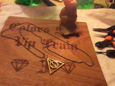 Collana a triangolo*...,* stupenda collana a triangolo