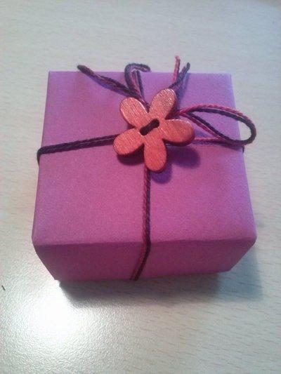 Scatola porta confetti, bomboniera, origami masu