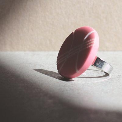 A3.15 - anello rosa regolabile