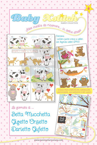BABY XSTITCH FAMILY COLLECTION N. 6