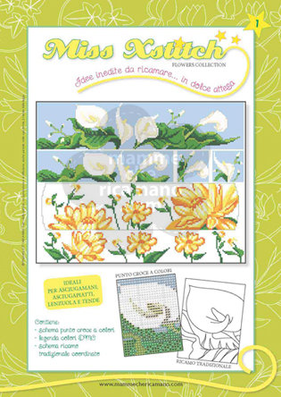 MISS XSTITCH FLOWERS COLLECTION N. 1