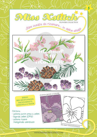 MISS XSTITCH FLOWERS COLLECTION N. 5