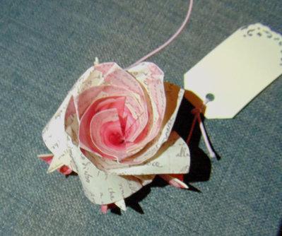 Segnaposto, rosa, matrimonio