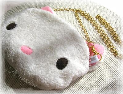 Borsetta gatto bianco - bambini