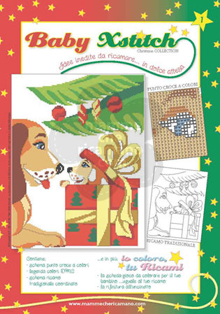BABY XSTITCH NATALE COLLECTION N. 1
