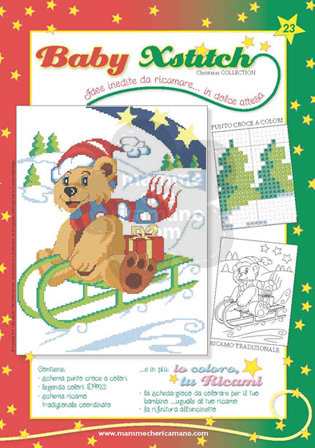 BABY XSTITCH NATALE COLLECTION N. 23