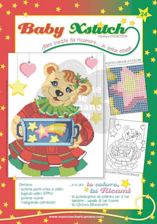 BABY XSTITCH NATALE COLLECTION N. 24