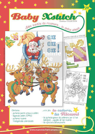 BABY XSTITCH NATALE COLLECTION N. 29
