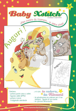 BABY XSTITCH NATALE COLLECTION N. 31