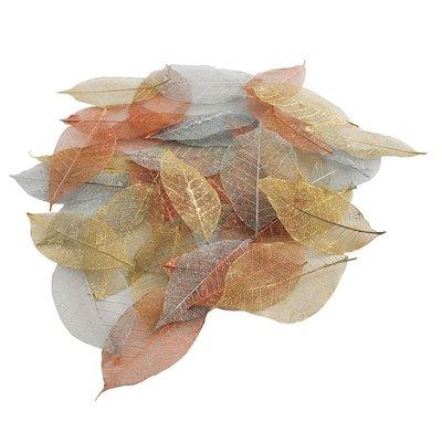 Set 40 foglie colorate - Metallic