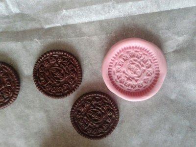 Stampo biscotto Oreo