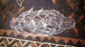 Ricambio in vetro di Murano per lampadario Ragnatela di Mazzega