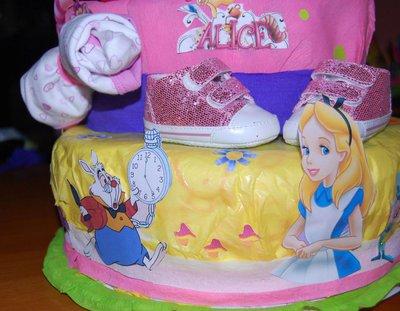 Torta di pannolini Alice
