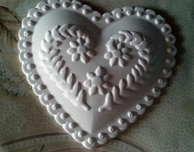 Gessetti cuore , cuoricino,segnaposto, 9x8,5cm bomboniere, nascita,matrimonio, casa,battesimo ,laurea