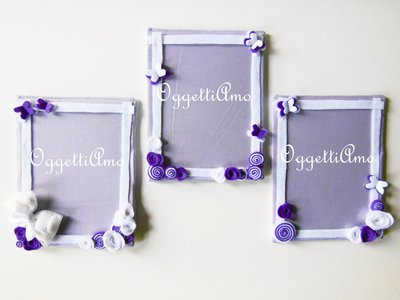 Cornici 20 x 30 cm per fotografie da ricordare: un oggetto decorativo per le bomboniere della vostra bambina!
