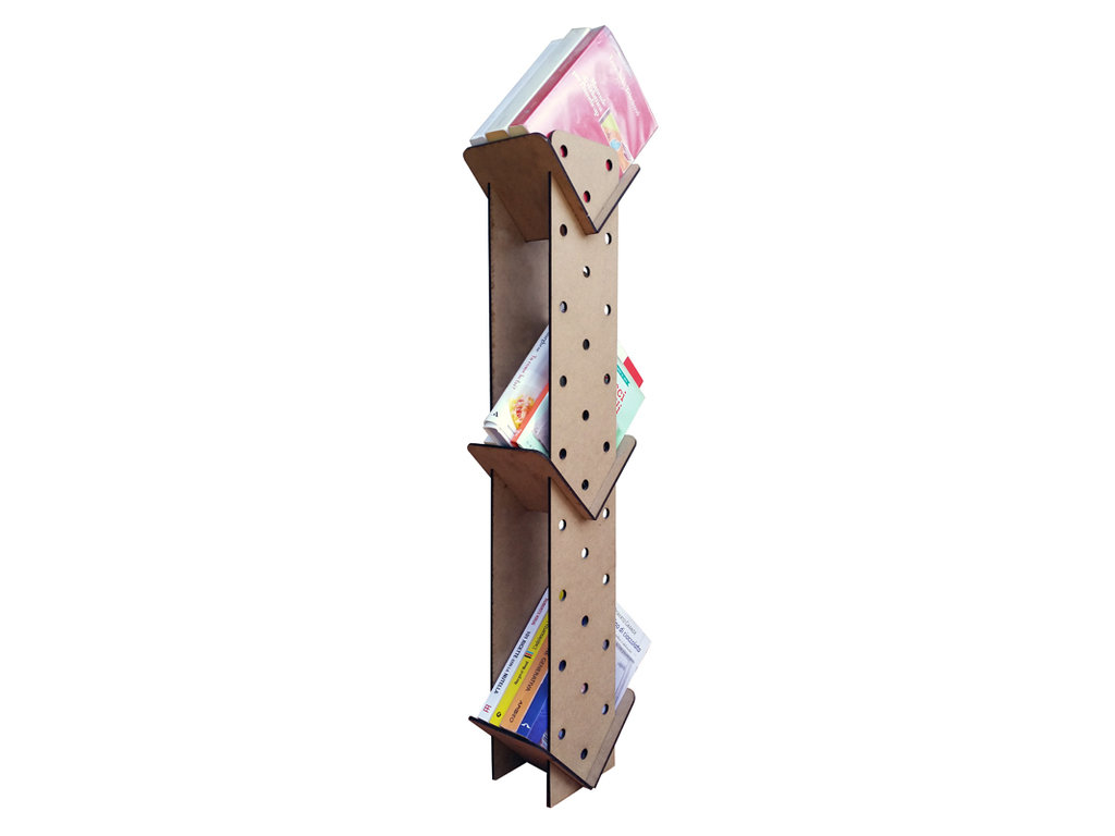 Crolib, una micro libreria in legno
