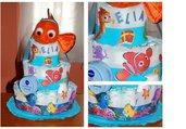 Torta di pannolini Nemo