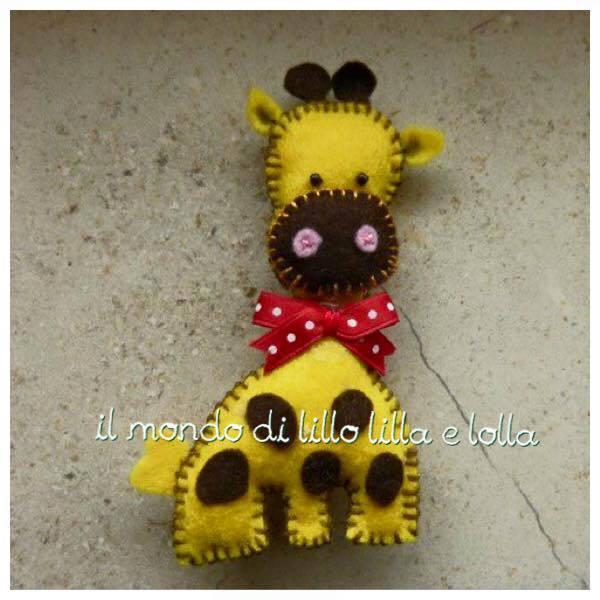 simpatica giraffina bomboniera
