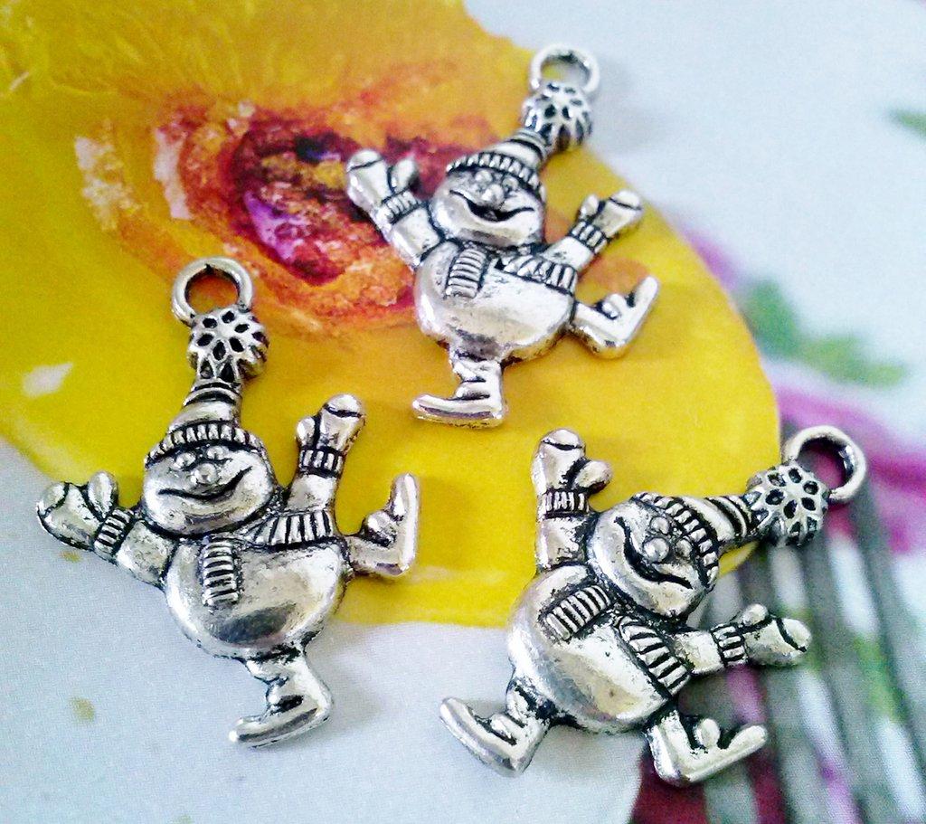 charms  OMINO FREDDOLOSO in argento tibetano