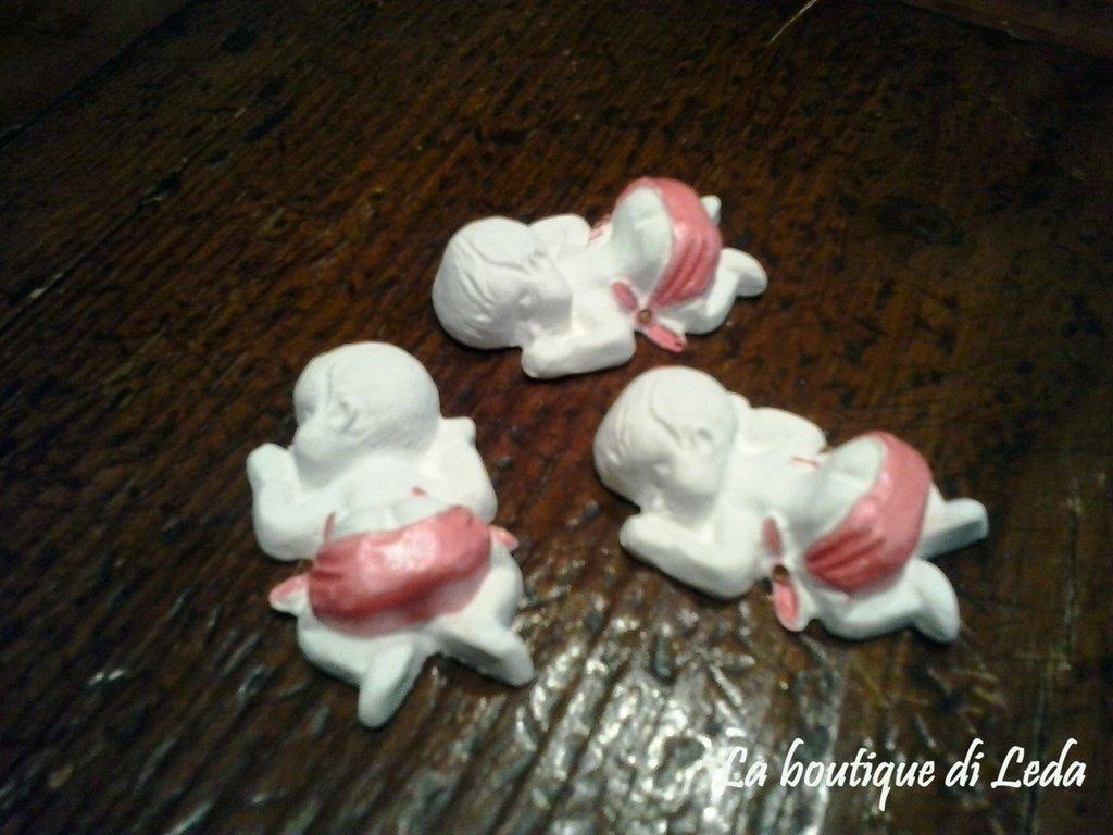 Gessetti per bomboniere a forma di neonato