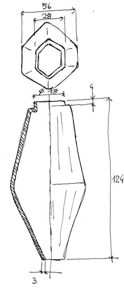 Poliedri per lampadari Venini, Mazzega cm 12 - Per la casa ...