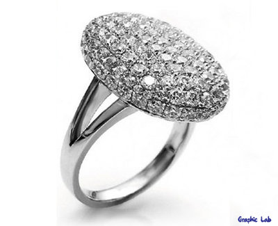 Anello di Fidanzamento con Diamanti Bella Swan Twilight