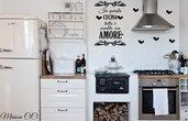 adesivo murale per cucina