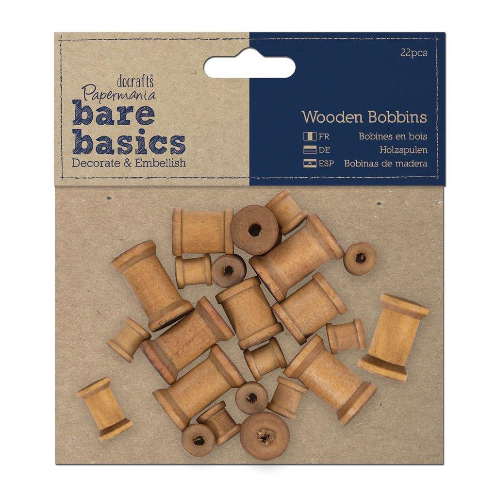Set 22 bobine in legno