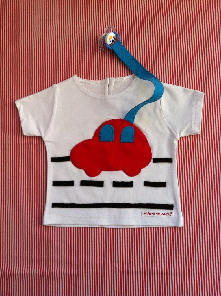 Maglietta porta-ciuccio MAMMANO bimbo brum