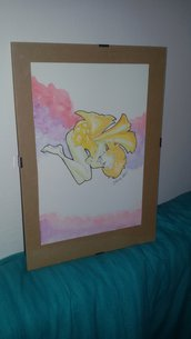 "illustrazione acquerelli fata ""taraxacum  puella"""
