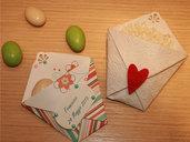 Bustine origami porta confetti, porta riso