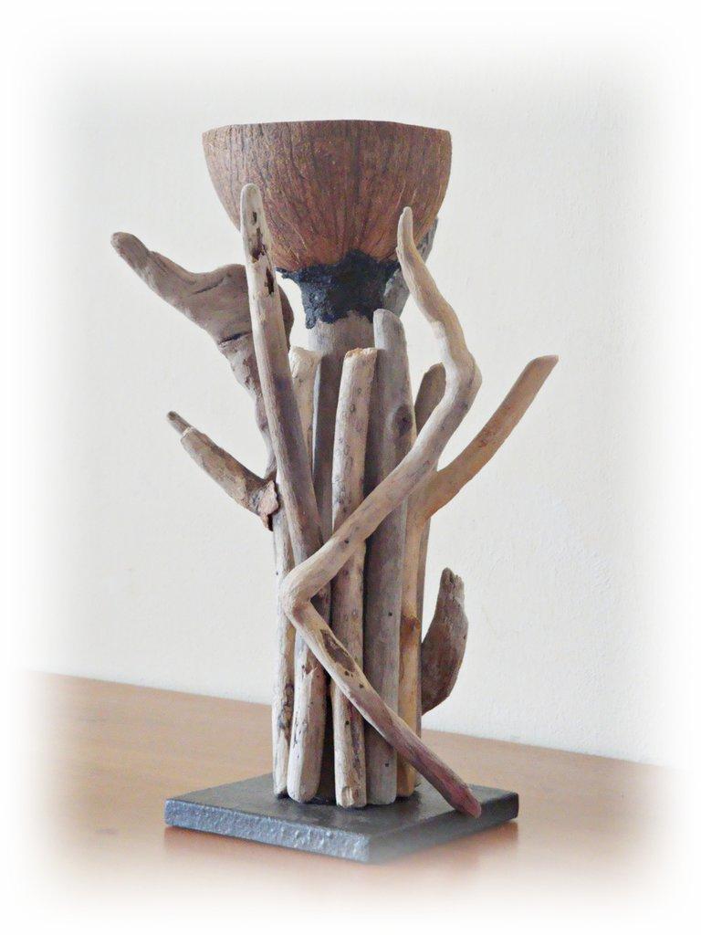 Porta cero con legni di mare - Per la casa e per te - Decorare casa...  su M...
