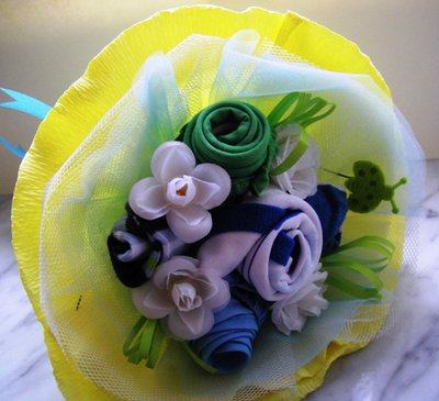 Baby Bouquet nascita con corredino