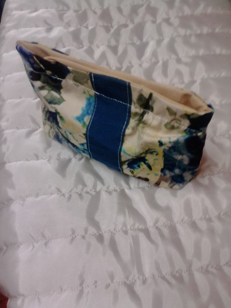 Trousse patchwork in cotone