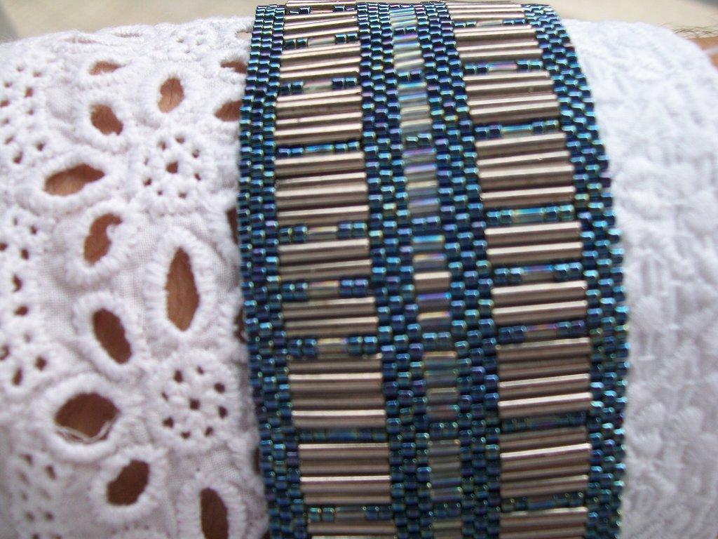 bracciale fascia grigio