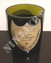 Vaso Porta oggetti ottenuto da Bottiglia di Dom Perignon.