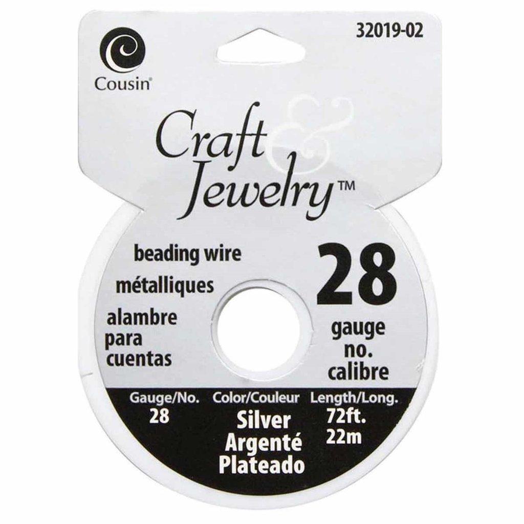 Filo per perline 0,32 mm - Silver