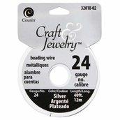 Filo per perline 0,51 mm - Silver