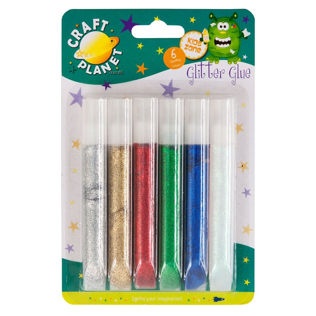 Set colla glitter