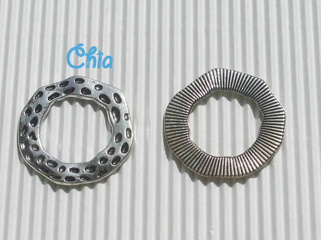 1 connettore/link cerchio irregolare