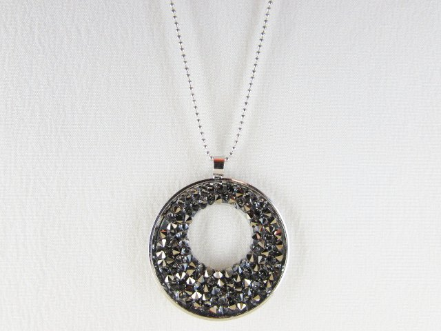 """Metallic Gold"" - Pendente in cristallo Swarovski"