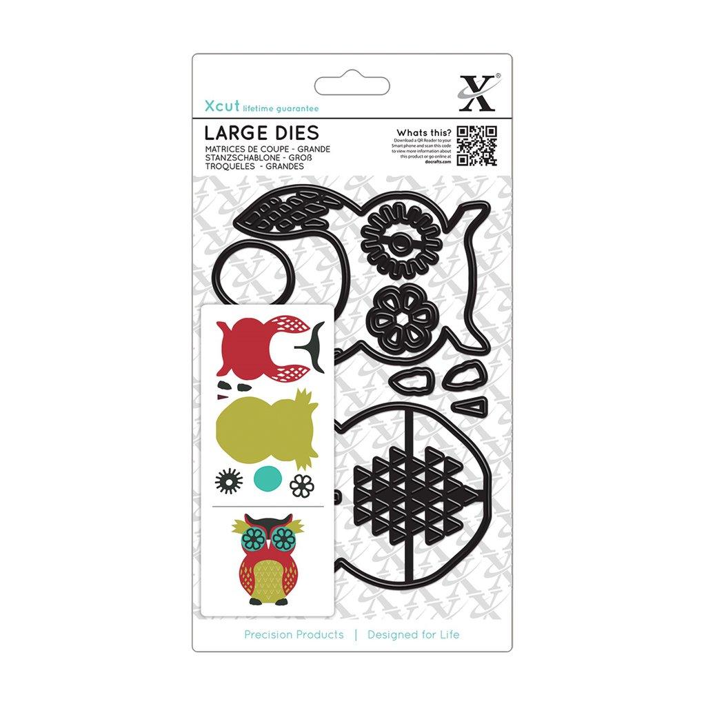 Set fustelle XCut Large - Owl