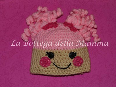 cappello lalaloopsy rosa